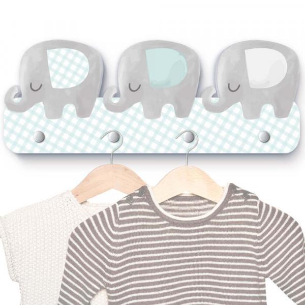 Elefantenherde Garderobe G018