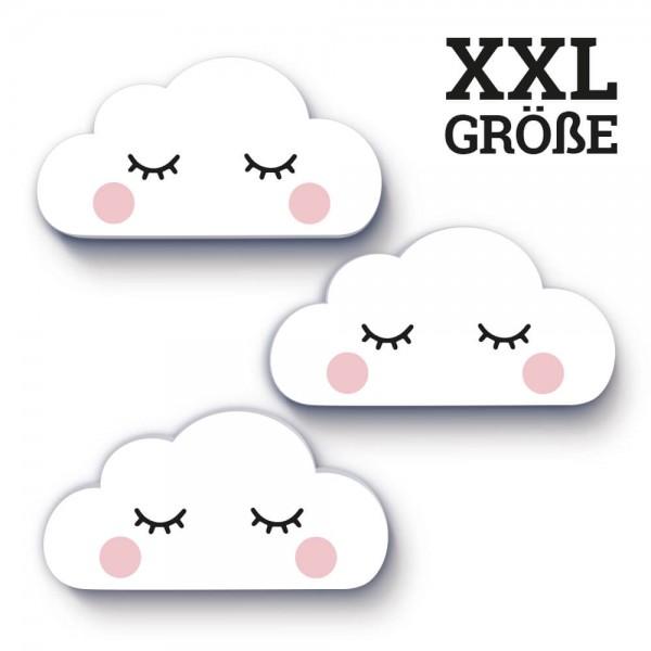 3er-Set XXL-Wolken Pink Cheeks (W001)