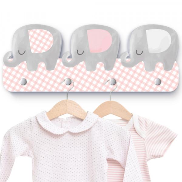Elefantenherde Garderobe G019