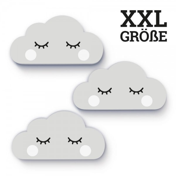 XXL-Wolken Grau Sleepy Eye (W007)