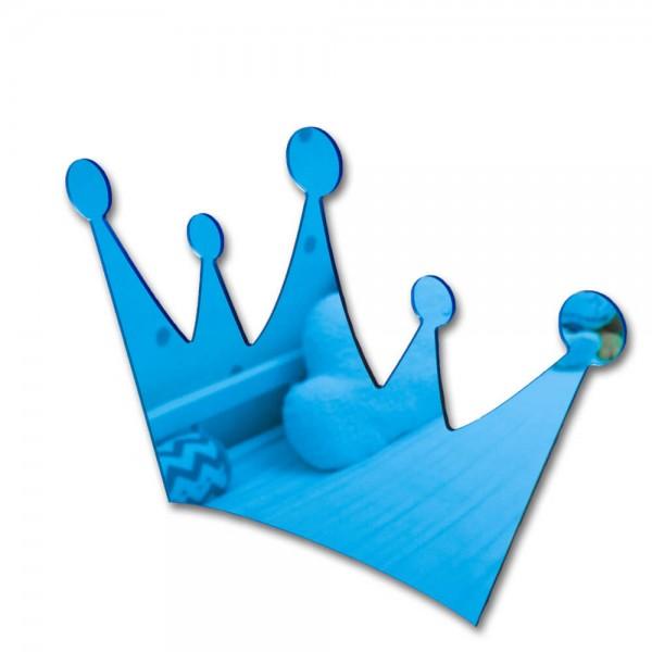 Spiegel Krone Blau (S203)