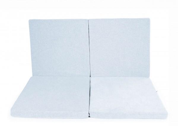 Spielmatte Quadrat Hellblau (Y017)
