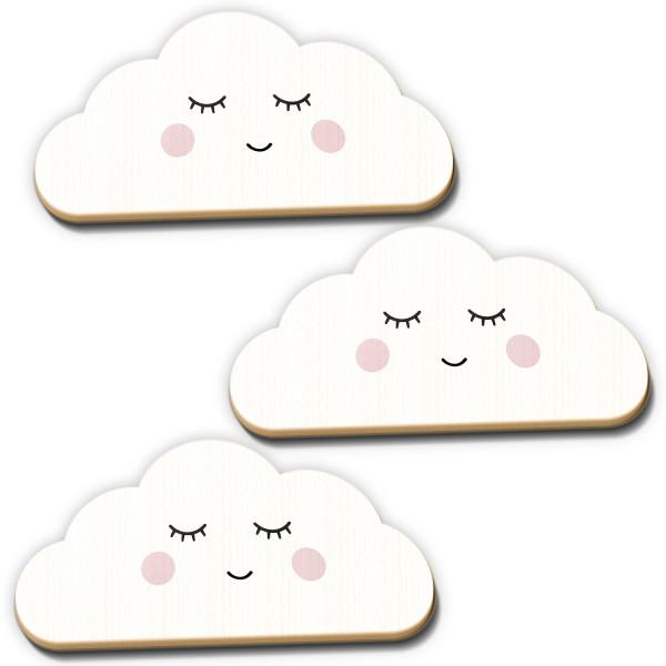Holz Wolken weiss Sleepy Eye