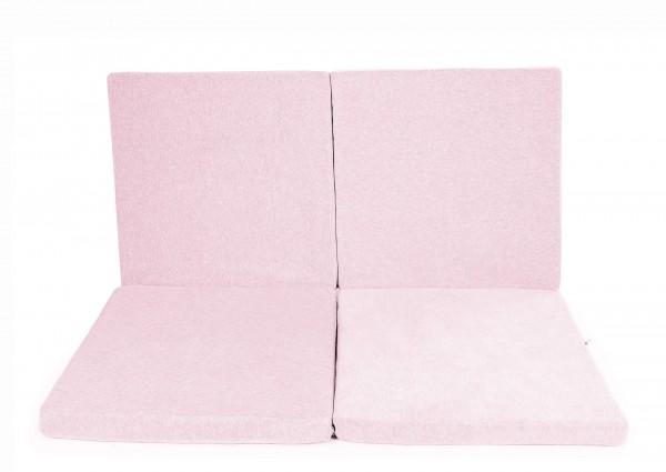 Spielmatte Quadrat Rosa (Y018)