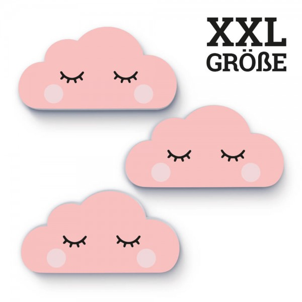 XXL-Wolken Rosa Sleepy Eye (W008)