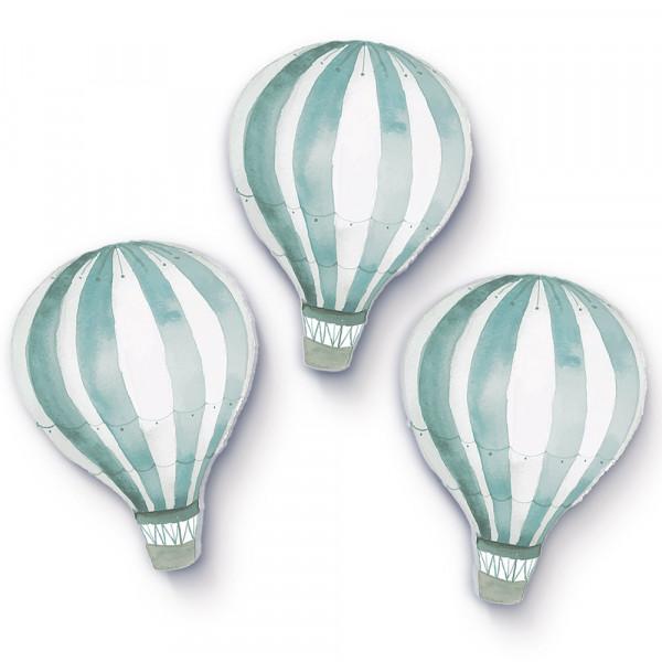 Heißluftballons mintgrün klein