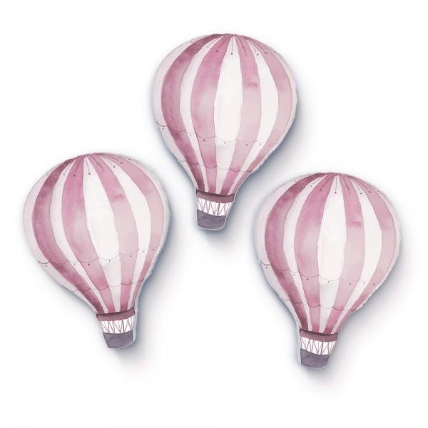 Heißluftballons Rosa 3er-Set (W203)