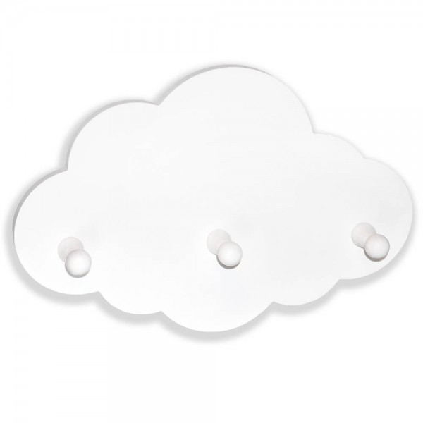 Wollken Garderobe Weiß (G305)