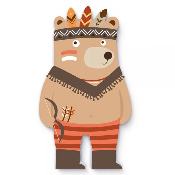 """Indianer Braunbär """"Brülli"""" (F004)"""